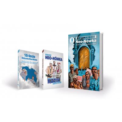 Zestaw Komiks + 2 x DVD
